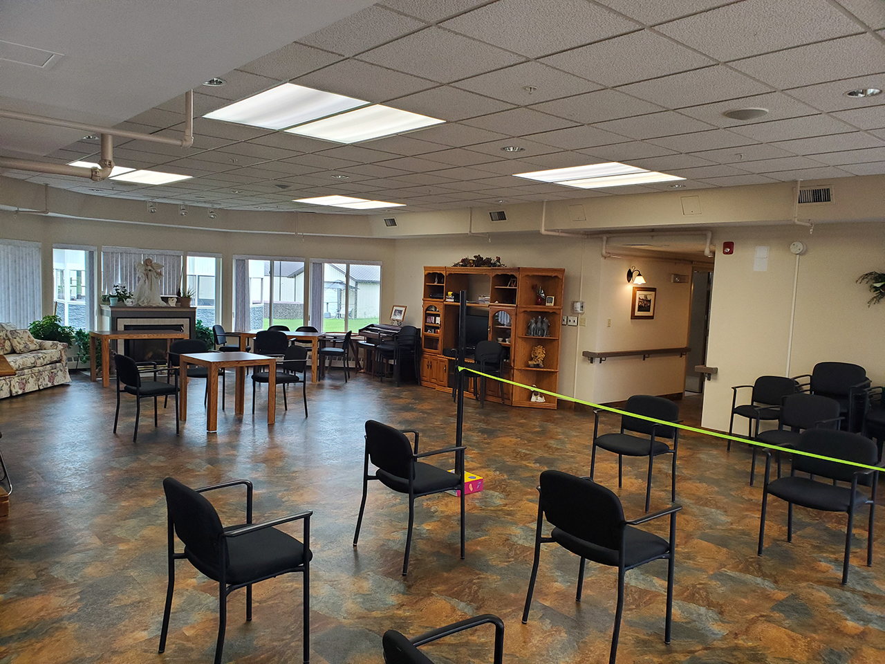 Tofield Lodge Activity Area